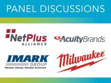 NetPlus Alliance, AcuityBrands, IMARK, Milwaukee Tool