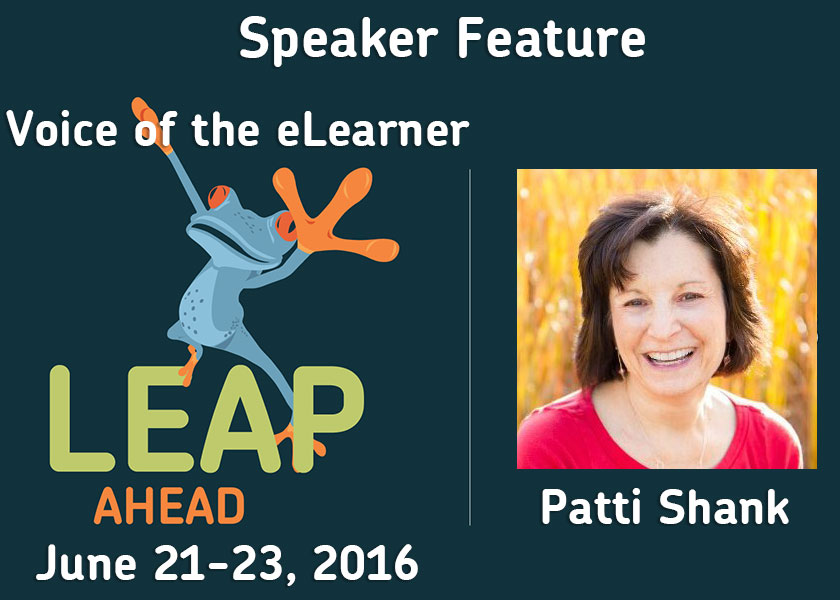 LEAP Ahead Conference 2016 Speaker Interview with Patti Shank