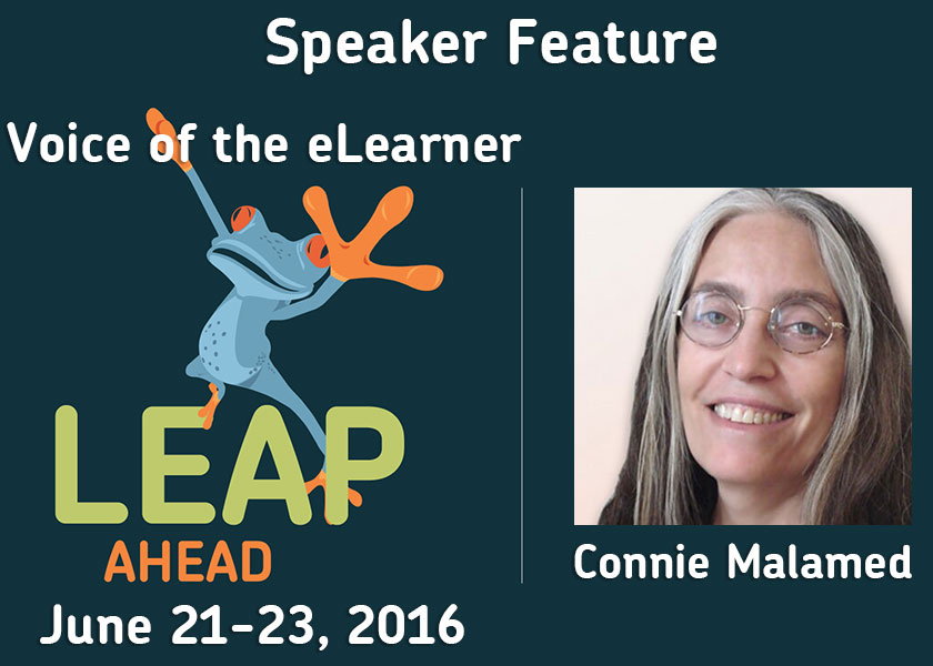 Interview with LEAP Ahead Keynote Speaker Connie Malamed