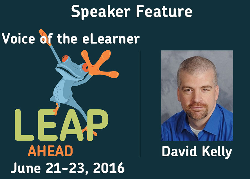 LEAP Ahead Conference speaker interview with David Kelly
