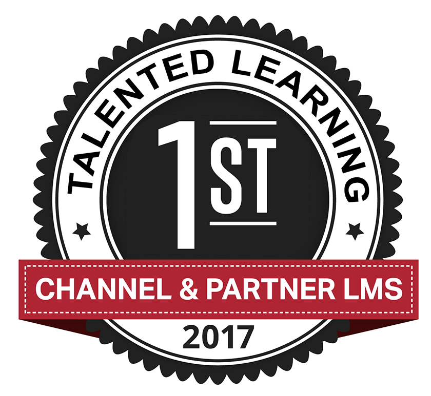 1st Place Talented Learning Channel & Partner LMS 2017 Award