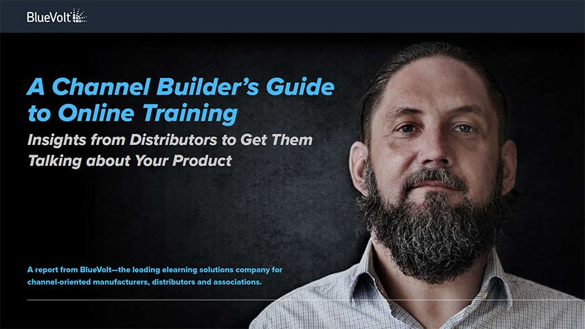 A Channel Builder's Guide to Online Training by BlueVolt