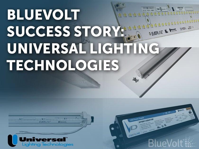BlueVolt Success Story Universal Lighting Technologies