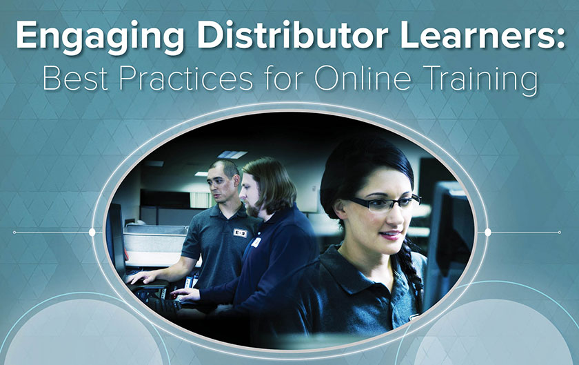 Engaging Distributor Learners BlueVolt Guide Poster PDF