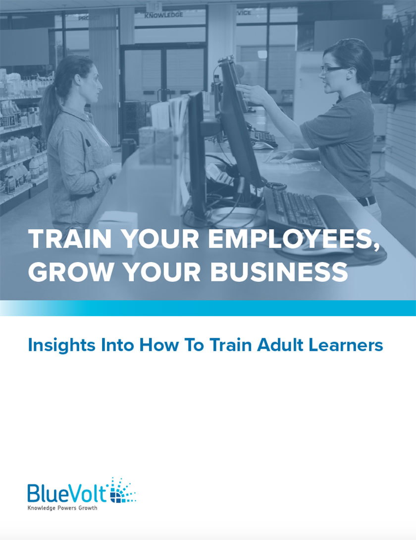 Train Your Employees Grow Your Business ebook cover