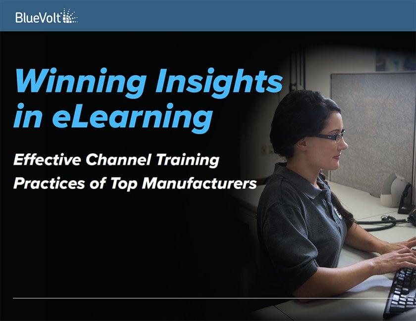 Winning Insights in eLearning BlueVolt Guide