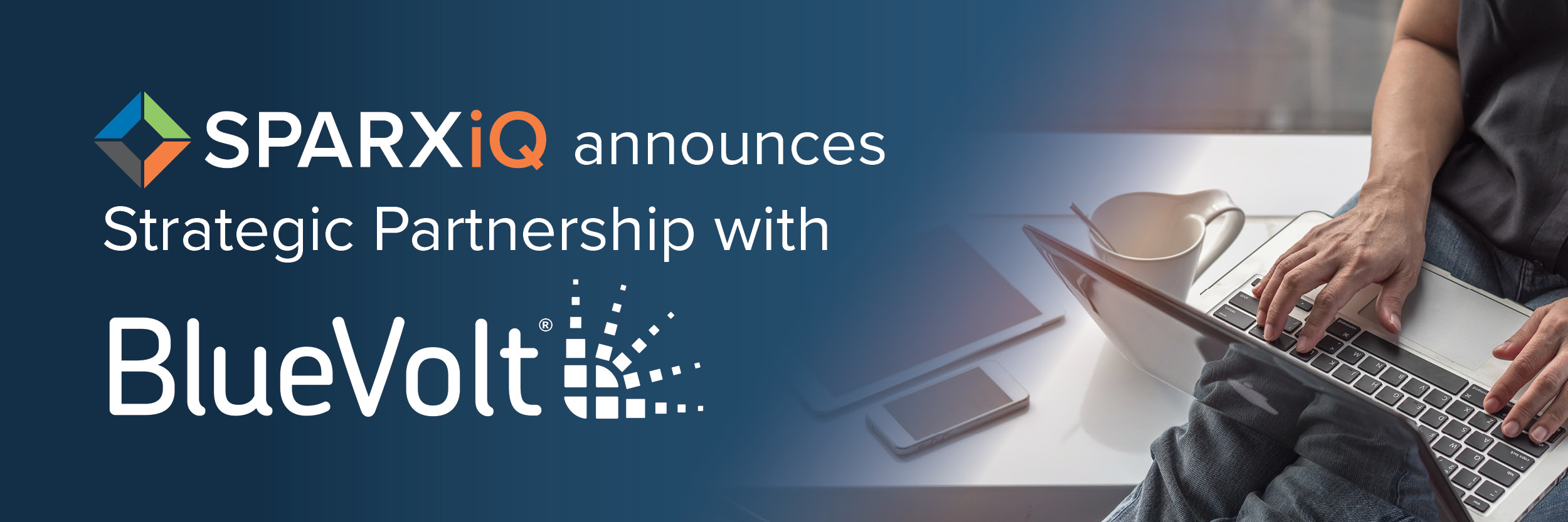 Press Release BlueVolt SPARXiQ Partnership