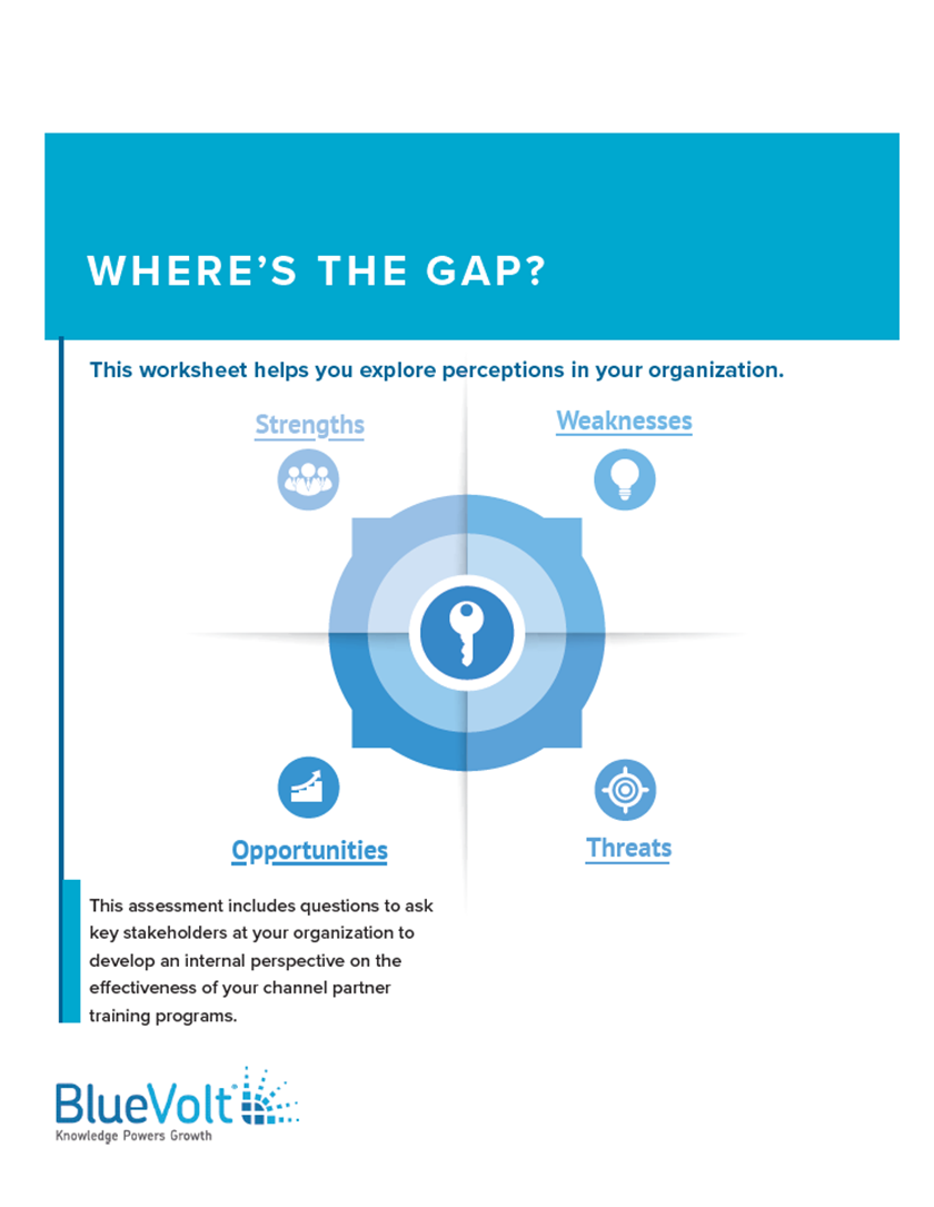 Where's the Gap? Conduct a Training Program SWOT Analysis Easily with this Workbook